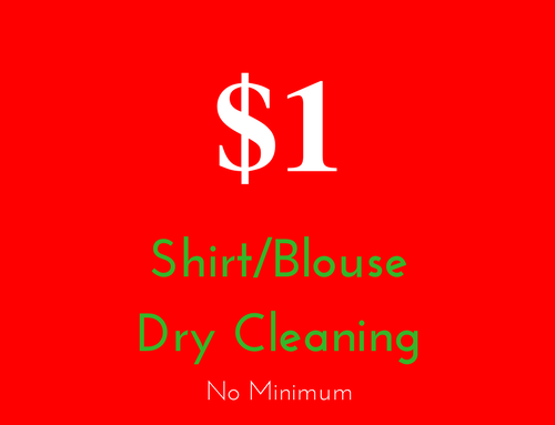National Day Dry Cleaning Promotion