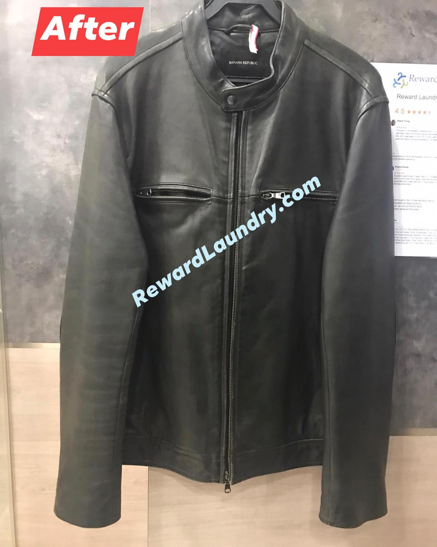 Leather Jacket Mould Removal After