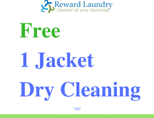 Free 1 Jacket Dry Cleaning