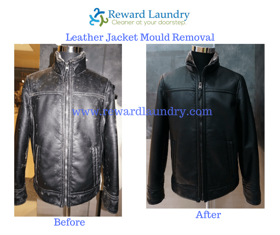 Dry cleaners leather jackets