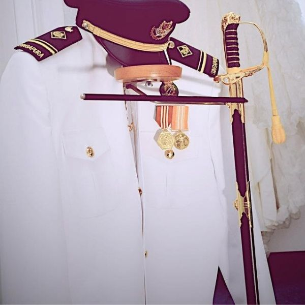Military uniform cleaning singapore