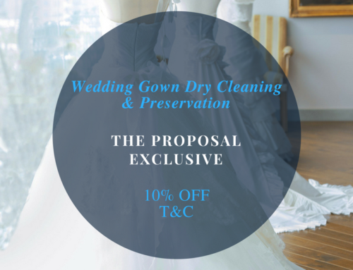 Exclusive 10% Off The Proposal Bridal Gown Cleaning & Preservation Services